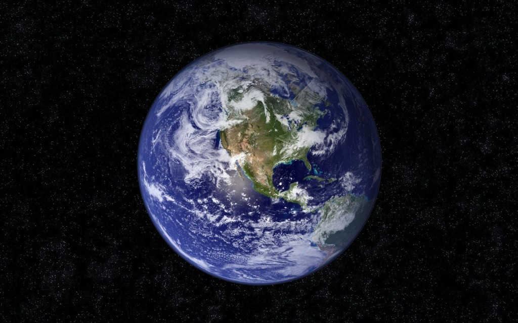 Blue marble - Courtesy of NASA